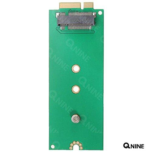 QNINE M.2(NGFF) SATA SSD KEY B/M to 26Pin Adapter for MACBOOK PRO Retina A1398 A1425 SSD Adapter