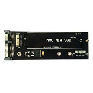 QNINE 6+12 Pin SSD to SATA Converter Adapter Card for 2010 2011 Macbook Air A1370 A1369 MC503 MC504 MC505 MC506 MC968 MC